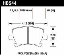 Hawk Disc Brake Pad Rear for 05-15 Audi TT / VW Golf & Tiguan & Jetta & Eos