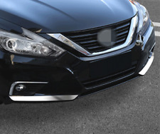 2PCS Stainless Front Bumper Protection Strip Fit Nissan Teana Altima 2016 2017