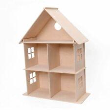 Großes Puppenhaus aus Holz ? Kreativ-Set