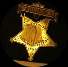 1898 SPAN-AMER WAR Camp Thomas CHICKAMAUGA PARK, GA Souvenir badge *ship incl.*