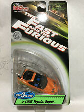 1:64 Racing Champions Fast & Furious 1995 Toyota Orange w Green