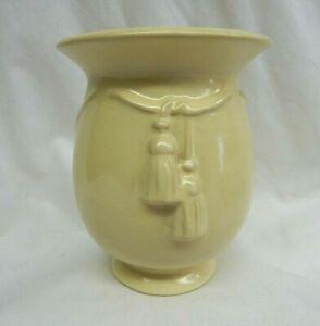 Vintage Weller Pottery Darsie Cord & Tassel Vase