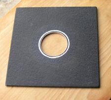 Genuine antiguos Sinar panel de placa de Lente F & P con agujero Compur Copal Nº 1 41.7 mm