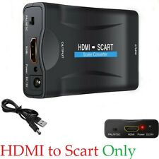 1080P HDMI To SCART Composite Video Converter Audio Adapter for DVD SKY BOX PS3