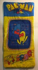 PAC-MAN SLEEPING BAG VINTAGE 1970S GOOD CONDITION.MADE BY MIDWAY