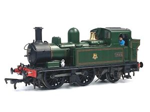Hattons Class 14xx 0-4-2 1444 Re-No.1421 in BR Lined Green H1413 6 DCC 00 Gauge