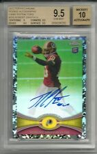 2012 Topps Chrome ROBERT GRIFFIN III Camo Refractor RC Auto #12/105 BGS 9.5 10