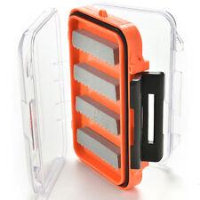 Double Side Waterproof Pocket Fly Fishing Box Slid Foam Insert Hold 170 Flies ZY