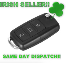 Volkswagen Bora Golf Passat Polo Touran Key shell fob VW 3 Button without Blade!