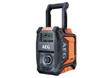 AEG 18V / 240V Hybrid Bluetooth Jobsite Radio - Skin Only