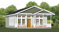 24x32 House -- 1 Bedroom 1 Bath -- PDF Floor Plan -- 768 sq ft -- Model 1
