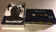 DEVOID OF FAITH Discography Cassette Tape hardcore punk dropdead disrupt tragedy