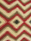 c1950 NAVAJO CRYSTAL REGIONAL BLANKET Rug Native American Indian - .99c & NO R!