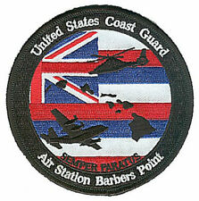 Air Station Barbers Point Hawaii state flag 2012 W5288 USCG Coast Guard patch