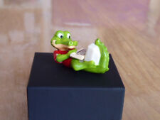 Ü-Ei-Figur, 25 Jahre alt, Die Crazy Crocos 1993, Billi the Bit, mit Aufkleber