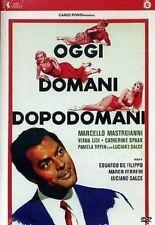 Dvd OGGI DOMANI DOPODOMANI *** Marcello Mastroianni ***  ......NUOVO