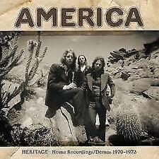 Heritage: Home Recordings/Demos 1970-1973 von America (2017)
