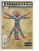 The Ultimates #2 Al Ewing // first appearance Lifebringer Galactus