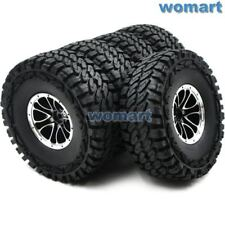 5Stk RC Crawler 1.9 Reifen Tire 115mm & Alum 1.9 Beadlock Felgen Für RC4WD Axial