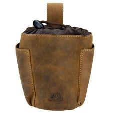 Greenburry Vintage 1604-25 Leder Futterbeutel Futtertasche Leckerlibeutel