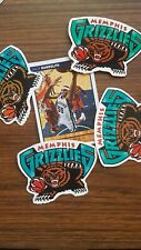 4 of Memphis Grizzlies themed Car Decal Sticker basketball collectable