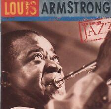 LOUIS ARMSTRONG - Ken Burns jazz - CD album