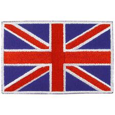 UNITED KINGDOM UK Nation Flag Logo Embroidered Iron On Patch #PFGUK1