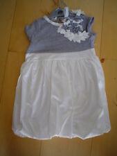 SO 15 paglie blanco de fiesta vestido, Gris Crema Talla 98 +74 +80