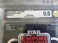 Star Wars The Vintage Collection Boba Fett AFA 9.0
