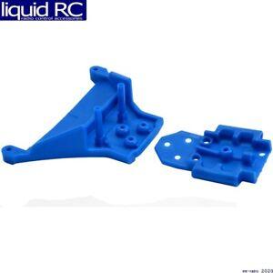 RPM R/C Products 73565 Front LCG Bulkhead: Blue: Traxxas Slash 4x4 & 1/10 Rally