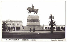 Montevideo Uruguay ARTIGAS MONUMENT OLD COLECCION HERMAN RP PHOTO POSTCARD
