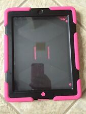 Griffin Armored Survivor Military-Duty Case Hot Pink for iPad Very Durable bx30