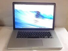 "Apple MacBook Pro A1286 15.4"" i7 Intel 2.66Ghz Ram 8GB HDD 500GB Mid 2010"