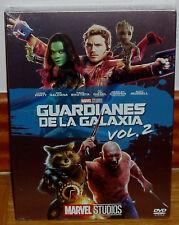 GUARDIANES DE LA GALAXIA VOL.2 SLIPCOVER DVD NUEVO ACCION MARVEL (SIN ABRIR) R2