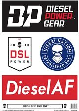 Diesel Power Gear Sticker Set B - *FREE* with any DPG T-Shirt! - Dodge, Ford