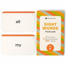 100+ PRESCHOOL SIGHT WORDS FLASH CARDS - Pre-K Dolch & Fry Sight Words