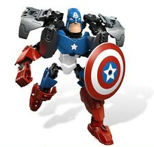 NEW COOL Captain America figure for assembly MARVEL CARTOON HOT SALE