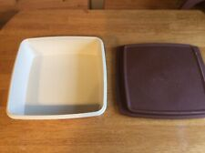 Vintage Retro Tupperware Cake Container