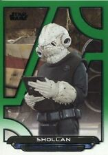 Star Wars Galactic Files 2018 Green [199] Base Card RO-21 Shollan