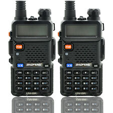 BAOFENG UV-5R Dual Band UHF/VHF Two Way Ham FM Radio+Speaker Mic Walkie Talkie