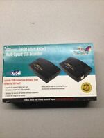 STARTECH USB EXTENDER 50M USB/CAT 5 TRANSMITTER-RECEIVER KIT USB110EXT 150' NEW