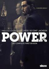 Power: Season One 1 (DVD, 2015, 2-Disc Set) New Sealed 50 Cent Starz