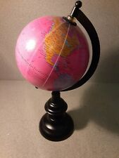 Small plastic world globe