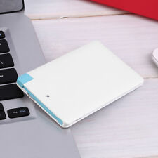 Ultra Slim Portable 2500mAh External Battery USB Power Bank For Cell Phone HR