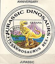 GUYANA  Animaux préhistoriques :le dinosaure TYRANNOSAURUS  REX C167