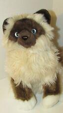 Gund plush Pippen Birmen Cat 11046 long hair Siamese Himilayan blue eyes