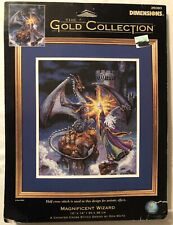 Dimensions Gold Collection Magnificent Wizard 35080 Counted Cross Stitch Kit NEW
