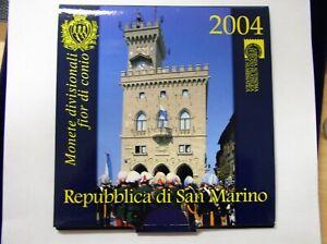 San Marino KMS 1Cent - 2 Euro ST im original Klappfolder 2004 - 2009 zur Auswahl