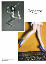 PUBLICITE ADVERTISING  2010    REPETTO   MARIE AGNES GILLOT ballerine