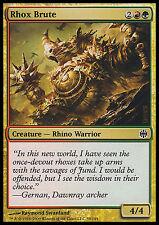 Rhox Brute X4 EX/NM Alara Reborn MTG Magic Cards Gold Common